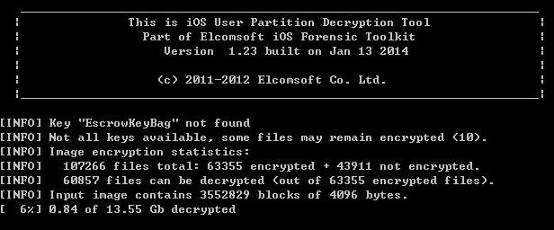 elcomsoft error111