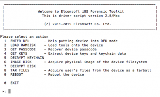Elcomsoft iOS Forensic Toolkit 介绍及使用教程